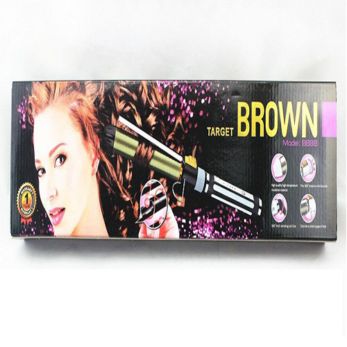 Brown Hair Roller Iron