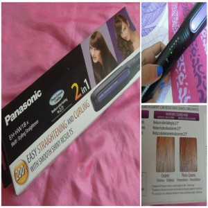 Panasonic 2in1 Hair Straightener