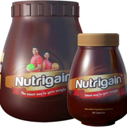 Nutrigain Plus Gain Weight Naturally