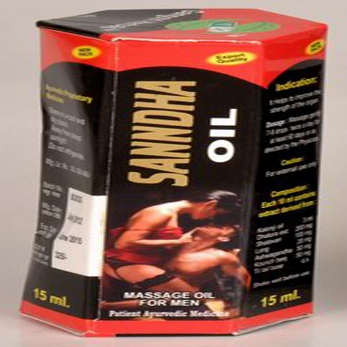 Sanda Oil (For Men's)
