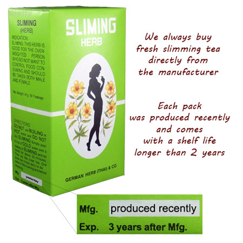 Sliming Herbs Tea